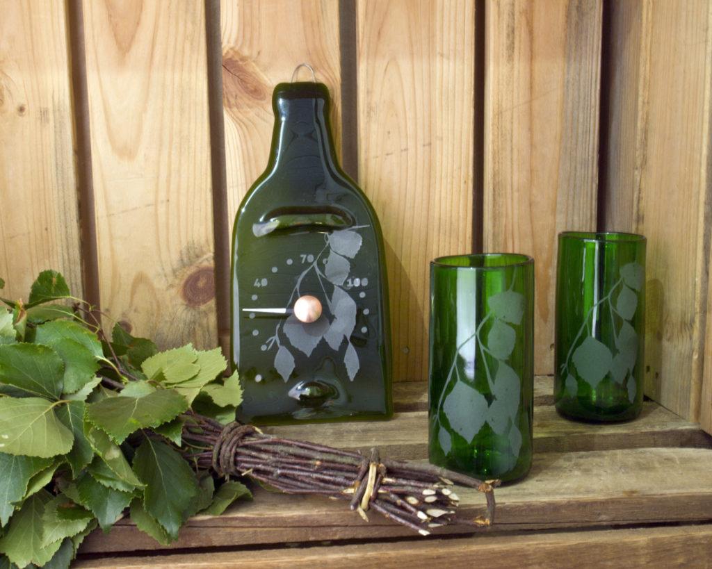 Betula-lasit ja saunamittari